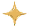 "40"" Metallic Gold Starpoint Mylar Foil Balloon"