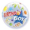 "22"" Birthday Boy Bubble Balloon"