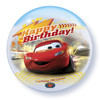 "22"" Cars Birthday Bubble Balloon"