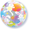 "22"" Easter Bunnies Bubble Balloon"
