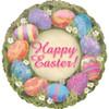 """18"""" Easter Elegance Mylar Foil Balloon"""