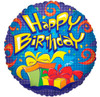 "18"" Birthday Prismatic Mylar Foil Balloon"
