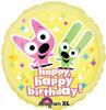 "18"" Hoops & Yoyo Birthday Mylar Foil Balloon"