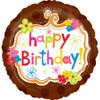 "18"" Totally Cool Birthday Mylar Foil Balloon"