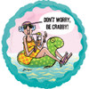 "18"" Maxine Dont Worry Be Crabby Mylar Foil Balloon"