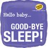 "18"" Baby Good Bye Sleep Mylar Foil Balloon"