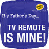 "18"" TV Remote Is Mine Mylar Foil Balloon"