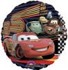 "18"" Cars McQueen & Group Mylar Foil Balloon"