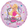 "18"" Barbie Sparkle Birthday Mylar Foil Balloon"