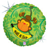"""18"""" Hang In There Monkey Mylar Foil Balloon"""