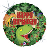 "18"" Dinosaur Birthday Mylar Foil Balloon"