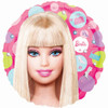 "18"" Barbie Pattern Mylar Foil Balloon"