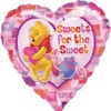 """18"""" Pooh Sweets for the Sweet Mylar Foil Balloon"""