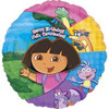 "18"" Dora and Friends Birthday Mylar Foil Balloon"