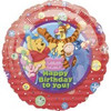 "18"" Winnie the Pooh and Friends Birthday Mylar Foil Balloon"