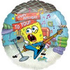 "18"" Spongebob Happy Birthday Mylar Foil Balloon"