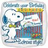 "18"" Snoopy Peanuts Birthday Circus Mylar Foil Balloon"