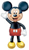 "52"" Mickey Mouse AirWalker Shape Mylar Foil Balloon"