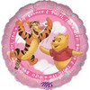 "18"" Winnie The Pooh It's A Girl! Mylar Foil Balloon"
