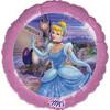 "18"" Disney Princess Cinderella Stardust Mylar Foil Balloon"