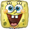 "18"" SpongeBob Face Mylar Foil Balloon"