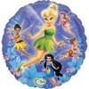"18"" Disney Fairies Party Flowers Mylar Foil Balloon"