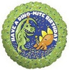"18"" Dino Mite Happy Birthday Mylar Foil Balloon"