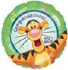 "18"" Tigger Congratulations Mylar Foil Balloon"