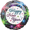 "18"" New Year Night Lights Mylar Foil Balloon"
