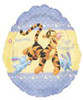 "26"" Here Comes Peter Cottontail Mylar Easter Mylar Foil Balloon"
