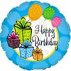 "18"" Happy Birthday Gifts Mylar Foil Balloon"