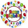 """18"""" Happy Birthday Balloon Release Mylar Foil Balloon"""