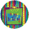 "18"" Funky Birthday Gift Mylar Foil Balloon"