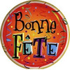 "18"" Bonne Fete Birthday Mylar Foil Balloon"