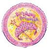 "18"" Pretty Pincess Birthday Mylar Foil Balloon"