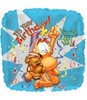 "18""Garfield ""It's Your Bday , Your 1"" Mylar Foil Balloon"