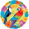 """18"""" Birds in Paradise Mylar Foil Balloon"""