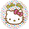 "18"" Hello Kitty Precious Holographic Mylar Foil Balloon"
