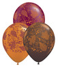 "11"" Fall Leaves Latex Balloons"