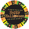 "18"" Halloween Radical Blast Mylar Foil Balloon"