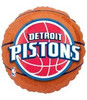"18"" NBA Detroit Pistons Basketball Mylar Foil Balloon"