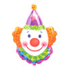 "33"" Juggles the Clown Mylar Foil Balloon"