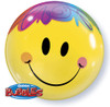 "22"" Bright Smiley Bubble Balloon"