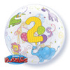 "22"" Age 2 Jungle Bubble Balloon"