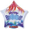 "22"" Colorful Birthday Star Bubble Balloon"