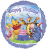 "18"" Pooh And Friends Birthday   Mylar Foil Balloon"