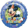 "18"" Mickey Birthday Stars   Mylar Foil Balloon"