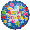 "18"" Birthday Explosion   Mylar Foil Balloon"