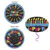"18"" Birthday Festive UFO   Mylar Foil Balloon"