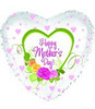 "18"" Mother's Day Pretty Roses Mylar Foil Balloon"